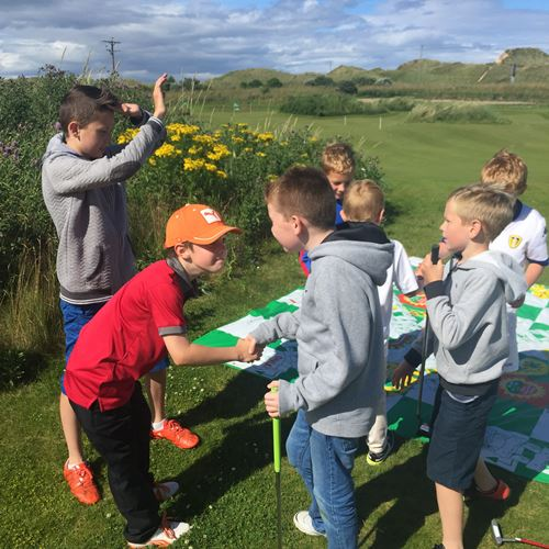 Junior Golf with a PGA Professional at Dunes Golf Centre in Fraserburgh, Aberdeenshire, Scotland
