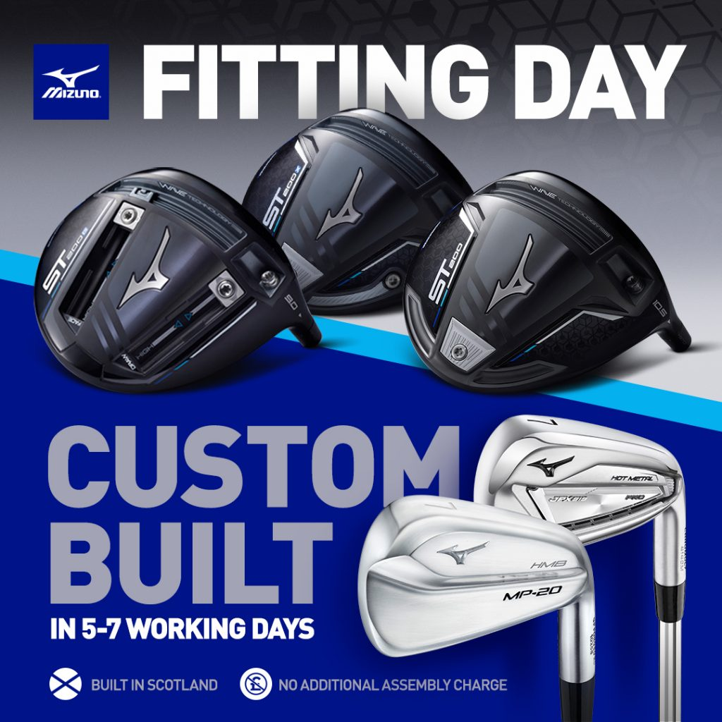 Mizuno Fitting Day Poster